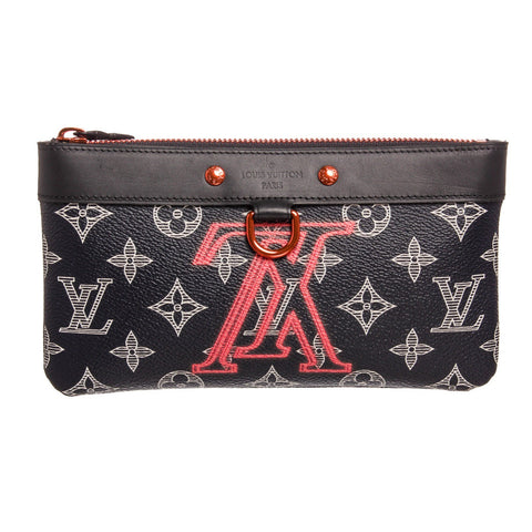 Louis Vuitton Monogram Upside Down Apollo PM Pochette Bag 'Dark Blue'