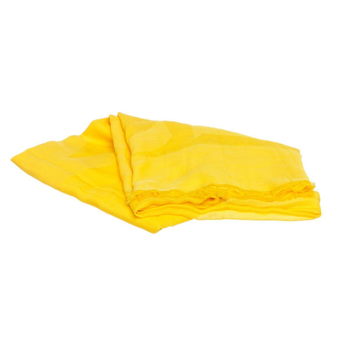 MCM Cotton Logo Scarf 'Yellow'