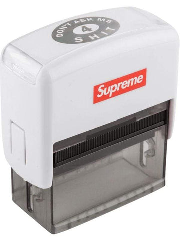 Supreme Don't Ask Me 4 Shit Stamp