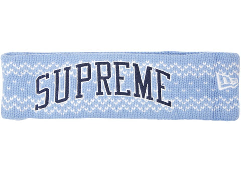 Supreme New Era Arc Logo Headband FW17