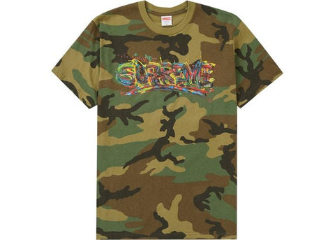 Supreme Paint Logo Tee