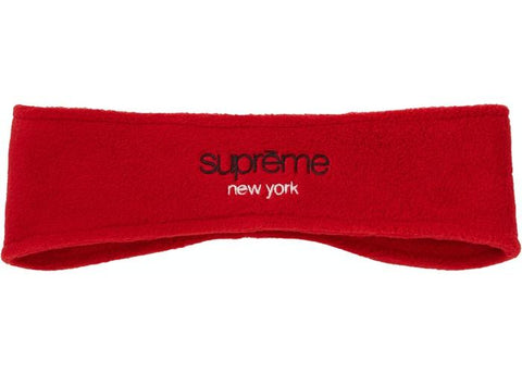 Supreme Polartec Headband FW18