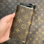Custom Louis Vuitton Monogram Wrapped Flask