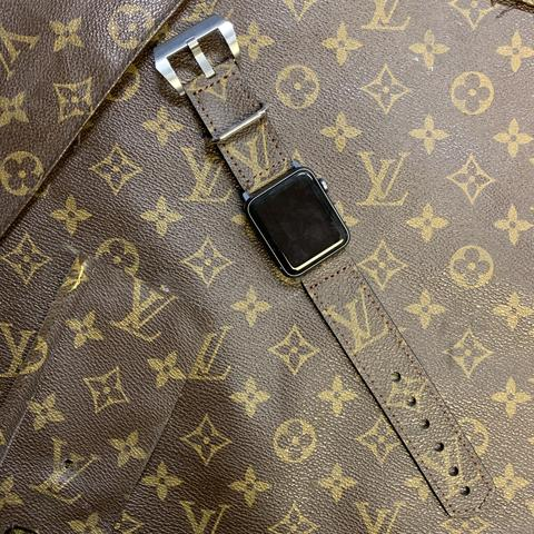 Custom Louis Vuitton Apple Watch Band