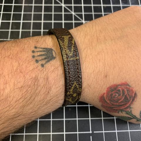 Custom Louis Vuitton Monogram Bracelet