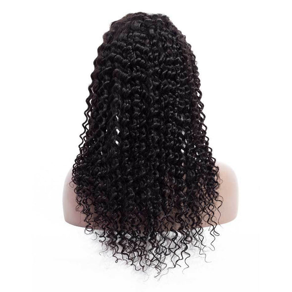 High quality lace front wig Deep Wave 13x4 Lace Front Wig natural hairline
