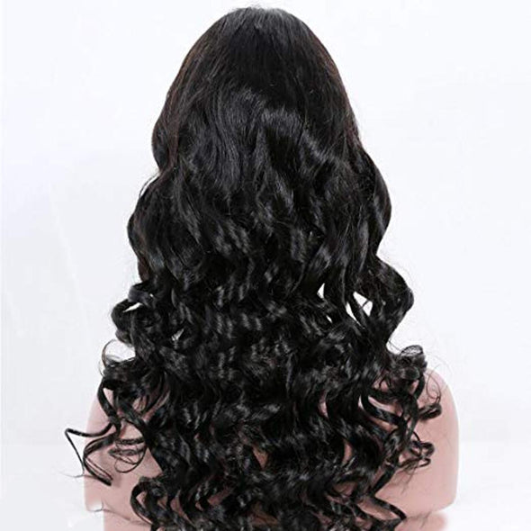High quality lace front wig Loose Wave 360 Lace Front Wig natural hairline