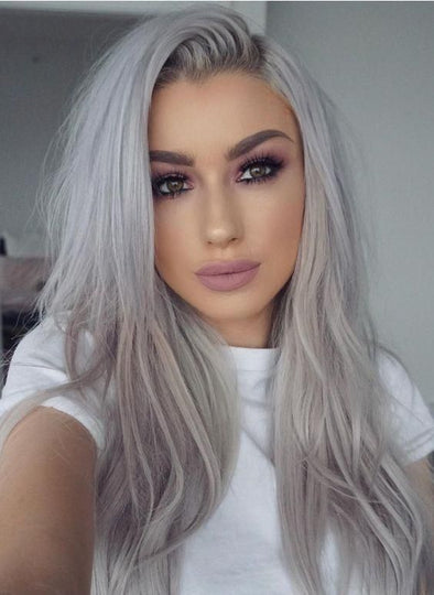 Gray Wig Lace Frontal Wigs best hair powder to cover gray roots