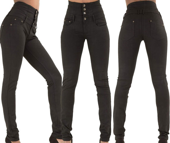 Simple Style Hight Waist Tight Jeans