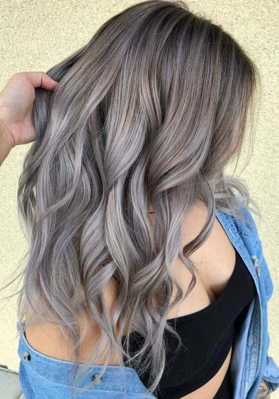 Gray Wig Lace Frontal Wigs best hair oil to prevent premature greying