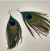 The New Ethnic Peacock Feather Earrings for Women in 2019