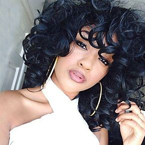 Lace Front Black Wigs Natural Color Aaliyah Hair Color Aaliyah Hair Color Free Shipping