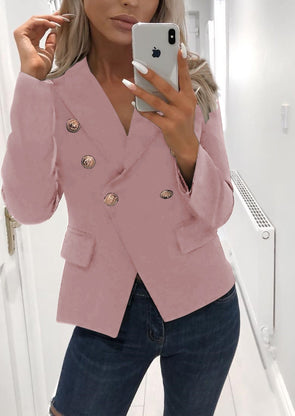 Long Sleeve Elegant Short Blazer