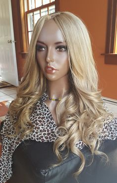Blonde Full Lace Human Hair Wigs With Baby Hair 150 Density Brazilian Remy Ombre Wig For Black Women