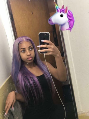 Purple Wig 10 Minute Hair Color Black Henna Hair Dye