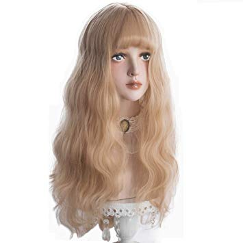 Lace Front Ombre Blonde Wig 30 Inch Long Wavy African american Synthetic Wigs Colors Available Free Shipping