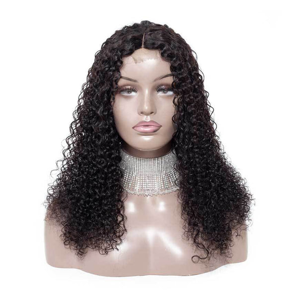 "High quality lace front wig Curly Hair ""J""- Shape Lace Wig natural hairline"