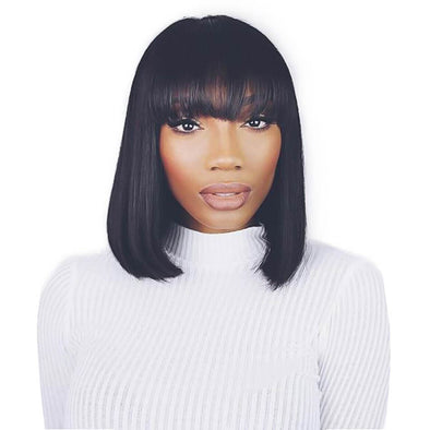 Lace Bob Wigs Black Wig For African American Women The Same As The Hairstyle In The Picture