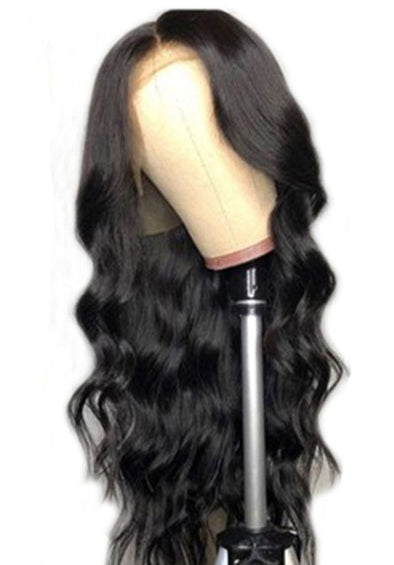 Lace Front Black Wigs Natural Color Aaliyah Curly Hair Aaliyah Curly Hair Free Shipping