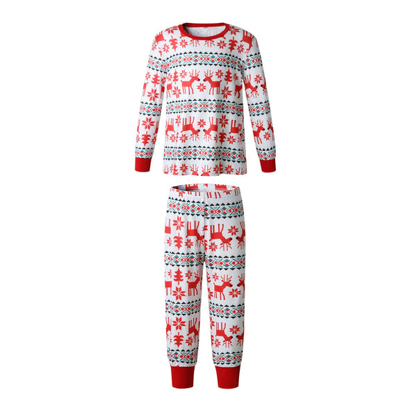Family Wear Kid's Christmas Elk Pajama