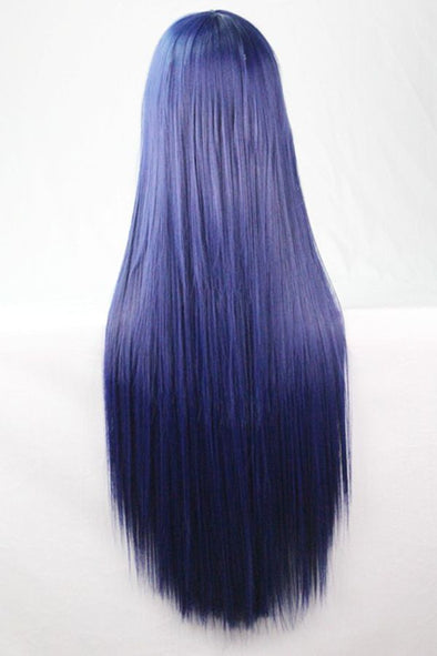 Blue Wigs Lace Frontal Hair 26 Inch Wig Dominican Blowout Mal Wig