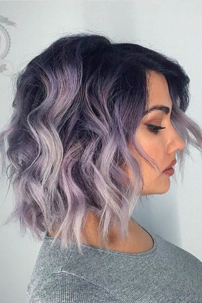Purple Wig 1 Day Hair Dye Sandy Hair Color