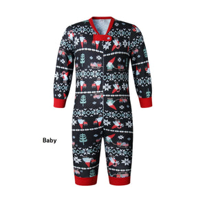 Family Wear Christmas Black Pajama for Baby