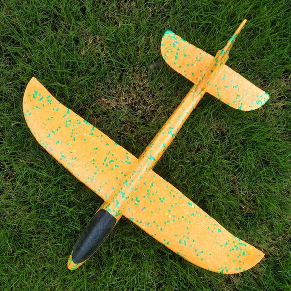 Foam Hand Throw Airplane Outdoor Launch Glider