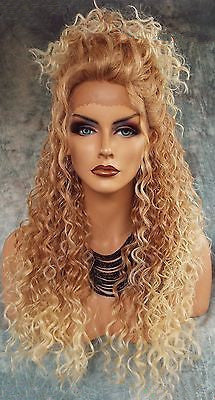 Lace Front Wig Blonde Wig Long Hair Human Hair Wigs Free Shipping