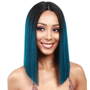 short blue wig amazon purple and blue hair ombre