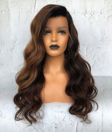 lace front wig mane concept brown sugar soft swiss lace front wig bs295 brown hair wigs long brown hair wig amazon extra long dark brown wig