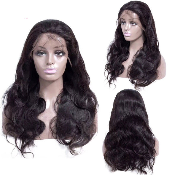 Lace Front Human Hair Wigs Pre Plucked 13X4 Non Remy Free Part Brazilian Body Wave Lace Front Wig With Baby Hair For Black Women