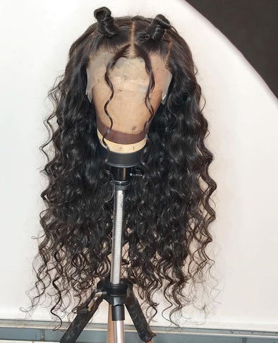 Swiss Lace Front Hair 100 Human Hair Full Lace Wigs