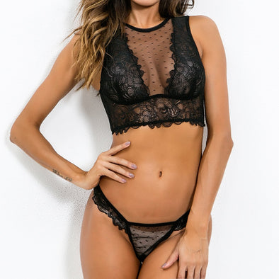 Sexy Lace Bra and Panty Set