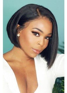Lace Bob Wigs Black Straight For African American Women The Same As The Hairstyle In The Picture