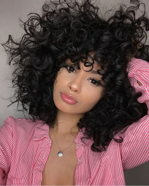 Black Wave Lace Front Wigs Ali 360 Lace Frontal Wig Beach Curl