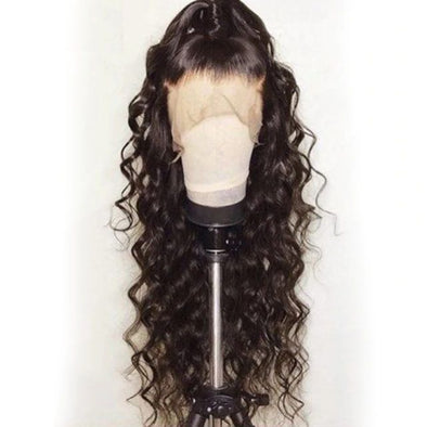 Lace Front Wigs Black Hair wigs with bangs for black women In Shebelt.com