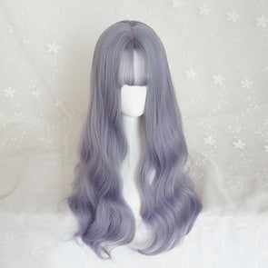 Purple Wig 1B Hair Color Almond Hair Color