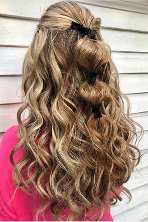 Beautiful Ways to Style Blonde Curly Hair | Big Southern