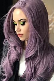 Purple Wig 1B Hair Color Liese Hair Color