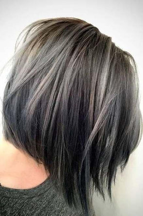 Gray Wig Lace Frontal Wigs best hair oil for gray hair