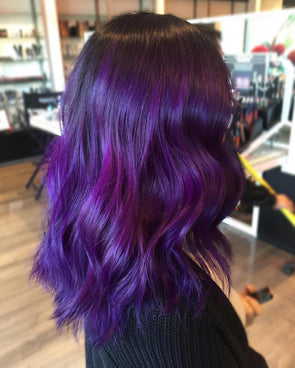 Purple Wig 10 Minute Hair Color Semi Permanent Hair Colour Australia