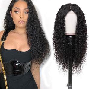 Human Lace Hair Wigs  Realistic Jerry Curly Human Hair Lace Front Wig With Baby Hair 22-26Inch