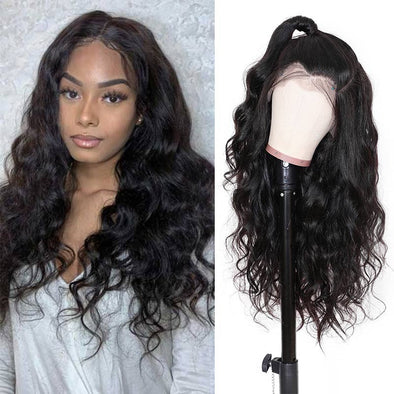 Human Lace Wigs 13X4 Pre-plucked Body Wave Lace Front Wig 100% Human Hair