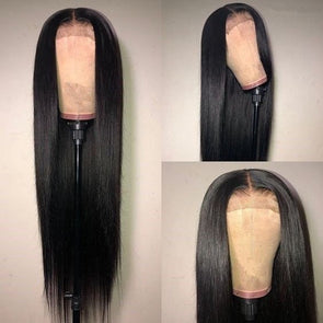Human Lace Hair Wigs Straight Brazilian Human Hair 100% Human Hair Straight Lace Front Wig