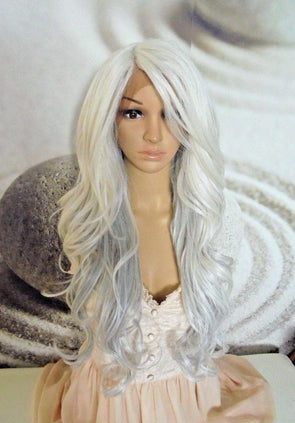 Short Grey Wigs With Lace Front