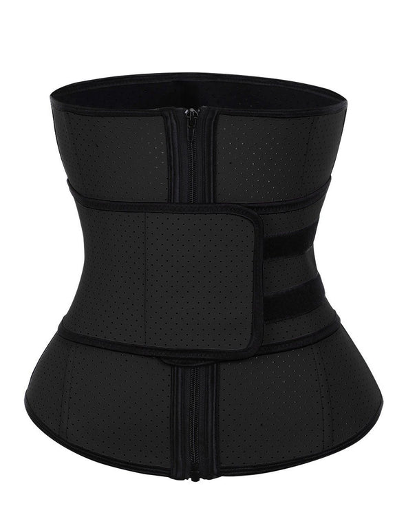 Body Shaper Sexy Large Size Punching Steel Boned Waist Supper Fashion Black