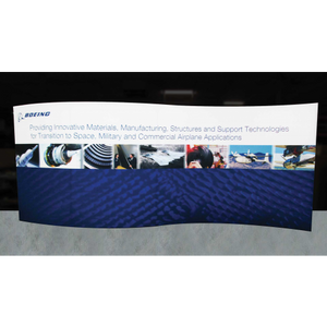 20ft Formulate Master WSC1 Serpentine Curve Tradeshow Fabric Backwall