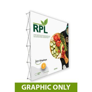 GRAPHIC ONLY - 10'X10' RPL Fabric Pop Up Display Straight Replacement Graphic