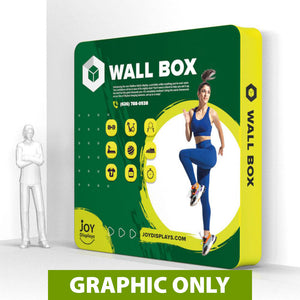 GRAPHIC ONLY - 10 Ft. Wallbox - 10'H  Structure Replacement Graphic